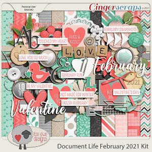 Document Life February 2021 Kit by Luv Ewe Designs