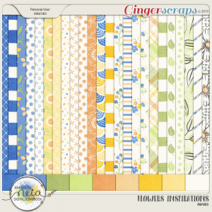 Flowers Inspirations - Papers - by Neia Scraps