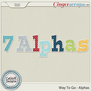 Way to Go - Alphas