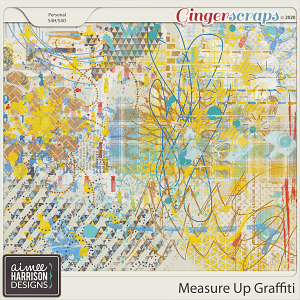 Measure Up Graffiti by Aimee Harrison