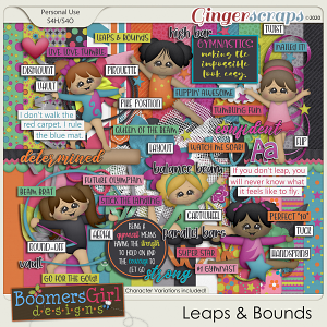 Leaps & Bounds by BoomersGirl Designs