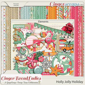 Holly Jolly Holiday {collab}