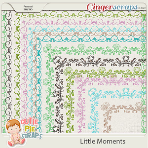 Little Moments Page Borders