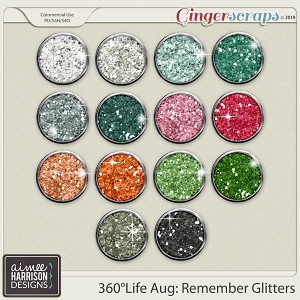 360°Life Aug: Remember Glitters by Aimee Harrison
