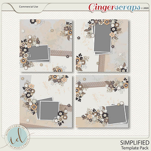 Simplified Template Pack by Ilonka's Designs