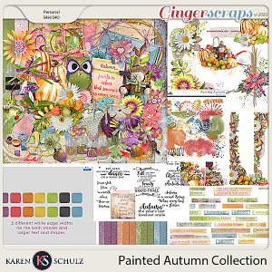 Painted Autumn Collection by Karen Schulz