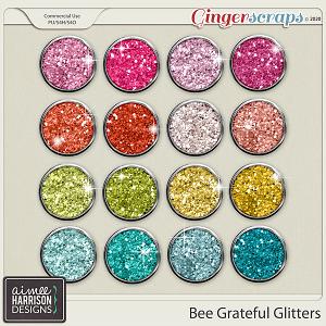 Bee Grateful Glitters by Aimee Harrison