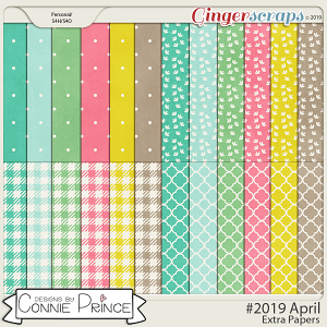 #2019 April - Extra Papers by Connie Prince