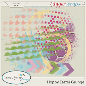 Hoppy Easter Grunge