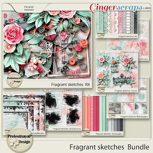 Fragrant sketches Bundle