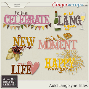 Auld Lang Syne Titles by Aimee Harrison