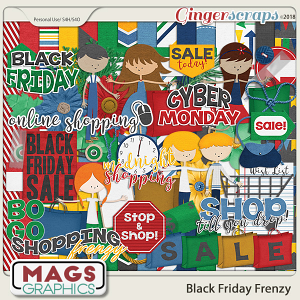 Black Friday Frenzy KIT by MagsGraphics