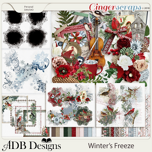 Winter's Freeze Bundle by ADB Designs