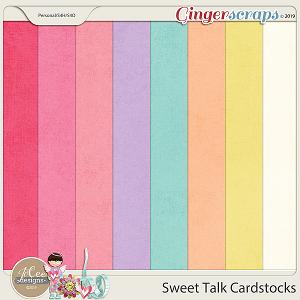 Sweet Talk Cardstocks by JoCee Designs