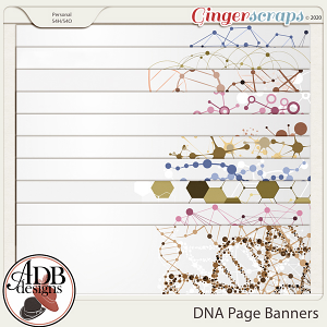 Heritage Resource - DNA Page Banners by ADB Designs