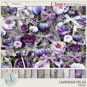 Lavender Fields Full Kit by Ilonka's Designs