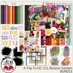 A Trip To DC - U.S. Botanic Garden Bundle by ADB Designs