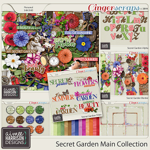 Secret Garden Collection by Aimee Harrison