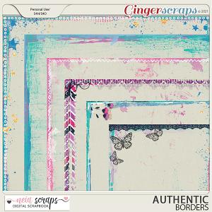 Authentic - Borders - by Neia Scraps