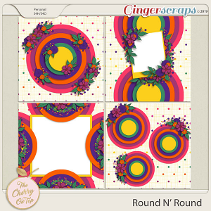The Cherry On Top:  Round N' Round Templates