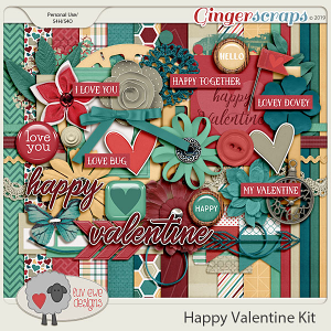 Happy Valentine Kit by Luv Ewe Designs