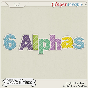 Joyful Easter- Alpha Pack AddOn