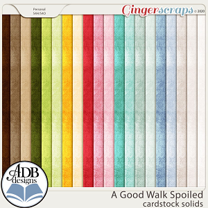A Good Walk Spoiled Solid Papers by ADB Designs