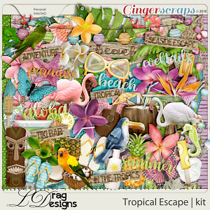 Tropical Escape by LDragDesigns