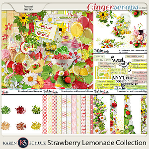 Strawberry Lemonade Collection by Karen Schulz
