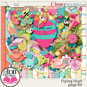 Flying High Page Kit by ADB Designs
