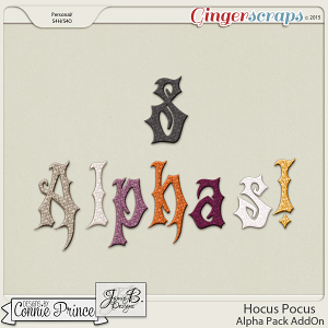 Hocus Pocus - Alpha Pack AddOn