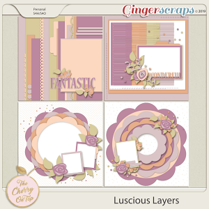 The Cherry On Top Luscious Layers Templates