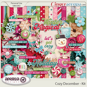 Cozy December - Kit by Aprilisa Designs