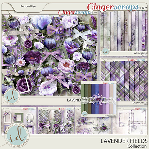 Lavender Fields Collection by Ilonka's Designs
