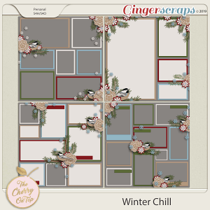 The Cherry On Top Winter Chill Templates