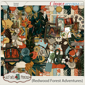 Redwood Forest Adventures by Scraps N Pieces
