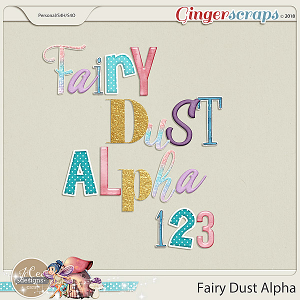 Fairy Dust Alphas by JoCee Designs