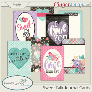 Sweet Talk Journal Cards