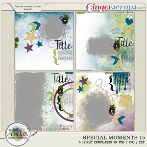 Special Moments- VOL.15 - Templates - by Neia Scraps