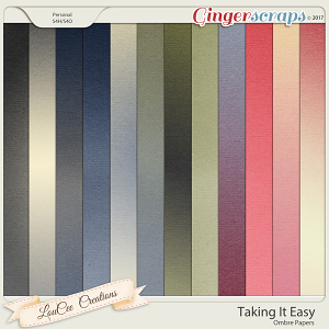 Taking It Easy Ombre Papers by LouCee Creations