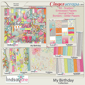 My Birthday Collection by Lindsay Jane