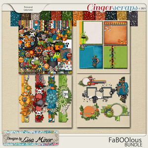 FaBoolous BUNDLE from Designs by Lisa Minor
