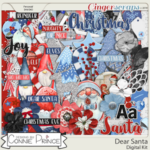 Dear Santa - Kit by Connie Prince