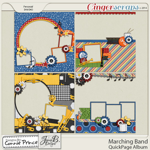 Marching Band - Quick Page Album