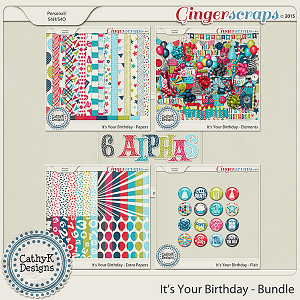 It's Your Birthday - Bundle
