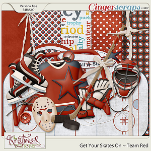 Get Your Skates On ~ Team Red Mini Kit