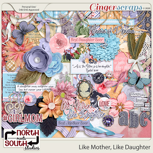 Like Mother Like Daughter Collab Kit by North Meets South Studios