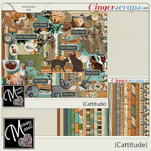 Cattitude by Memory Mosaic