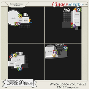 White Space Volume 22 - 12x12 Temps (CU Ok)