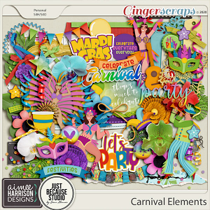 Carnival Elements Pack by Aimee Harrison and JB Studio